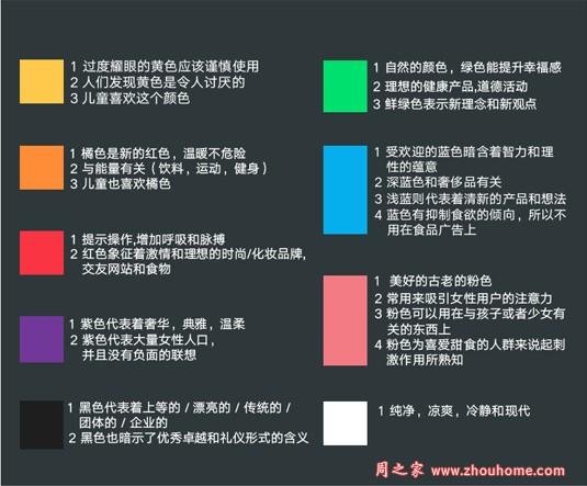 色彩心理学对溧阳网页设计有多大影响力